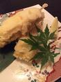 料理メニュー写真伊達鶏ササミチーズ串天