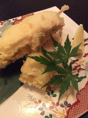 伊達鶏ササミチーズ串天