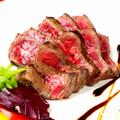 料理メニュー写真和牛もも肉のグリル