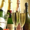 料理メニュー写真キラめくシャンパンで乾杯♪ボトル各種(モエ、ドンペリ等)取り揃えております!