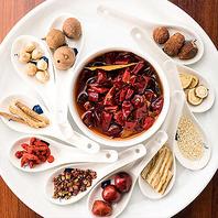 美肌効果のある数十の漢方を配合したスープ◎