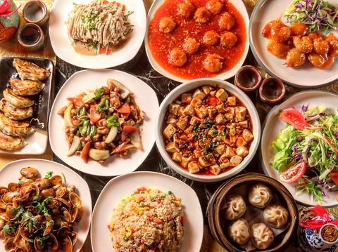 絶品本格中華料理の食べ飲み放題コース!2.5時間3200円(抜)でご用意しております♪