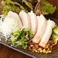料理メニュー写真中華風よだれ鶏