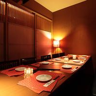 全席扉付きの完全個室!寛ぎの和プライベート空間…