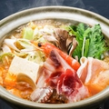料理メニュー写真香味山椒ちゃんこ鍋