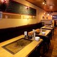 ◆1階テーブル席◆最大30名様までご宴会可能!大画面モニターもございます♪