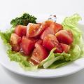 料理メニュー写真まるごとトマトサラダ