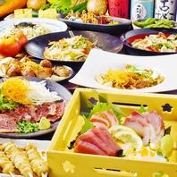 [新静岡駅前]飲み放題付宴会コースは7種で完全個室用意!