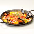 料理メニュー写真魚介たっぷりシーフードパエリア