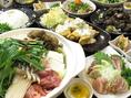 宮崎料理が堪能できる! 地元ならではの郷土料理が味わえるコースご用意しております。