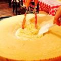 料理メニュー写真パルミジャーノレッジャーノ 焦がしチーズパスタorリゾット