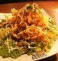 料理メニュー写真カリカリごぼうサラダ