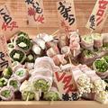 料理メニュー写真野菜巻串おまかせ5種盛り