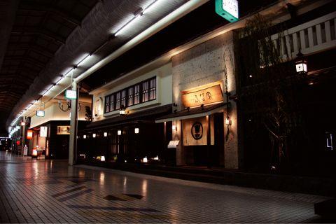 船町アーケードの入口にあるお店。