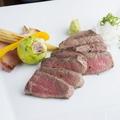 """料理メニュー写真""""A5ランク黒毛和牛"""" 熟成赤身肉ステーキ"""