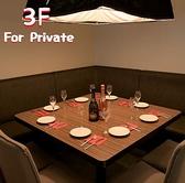 【3F】8名様テーブル