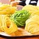 自家製生パスタは6種類の麺の中から選べます。