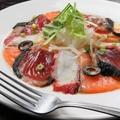 料理メニュー写真3種の魚のカルパッチョ