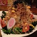 料理メニュー写真波波サラダ