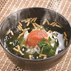 永谷園のお茶漬け(国産南高梅/鮭/明太子)