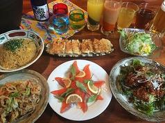 島唄と地料理 とぅばらーまのコース写真