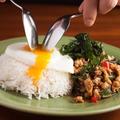 料理メニュー写真鶏肉のガパオ炒めご飯 [タイ米 or 酵素玄米]・・・プレーン <中辛>
