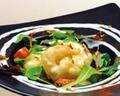料理メニュー写真大海老のチリソース/ぷりぷり海老のマヨネーズ和え