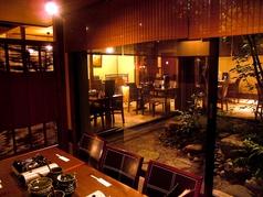 個室テーブル席は人気のお席。お早目にご予約下さい。