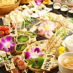 野菜巻き串 巻きんしゃい 梅田店のおすすめ料理1