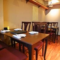 4名様テーブル×4席、2名様テーブル×1席。最大20名様迄