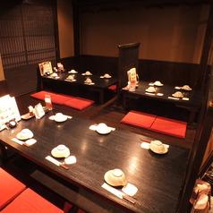 落ち着いた和風の空間は会社宴会にも最適です!