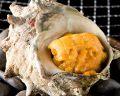 料理メニュー写真サザエのウニ壺焼き