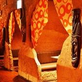 2~12名の様々な個室あります。個室は全部で4部屋です。是非、洞窟の雰囲気をお楽しみください。