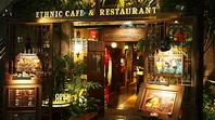 南国のリゾートレストラン