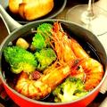 料理メニュー写真海老/牡蠣/烏賊/鶏/マッシュルーム/ミニトマト/長芋/ブロッコリー/おまかせミックス 各種