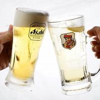 焼肉にはやはりビール