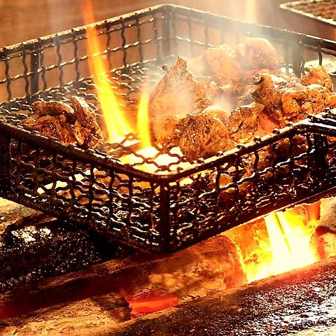 """一番人気名物""""もも焼き""""★素材の美味さを追及した料理の数々をお楽しみ下さい!"""