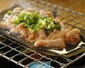 料理メニュー写真いかゴロ漬け七輪昆布焼き / Clay charcoal stove kombu fring of the cuttlefish