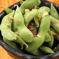 料理メニュー写真枝豆ペペロンチーノ