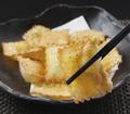 料理メニュー写真餃子フェア開催中!洋風チーズ揚げ餃子~明太バター風味~