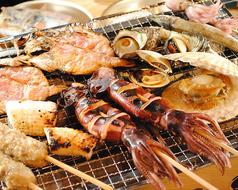 料理メニュー写真海鮮焼き