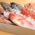 日替わりのお魚をご提供!珍しいお魚から、定番のお魚(例えば煮付けで絶品の金目鯛などなど)まで!当日の仕入れによって変わりますので、お問い合わせいただけると幸いです!