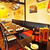 25名様までご利用可の半個室!こちらの個室空間は人気のお席です。ゆっくりとおくつろぎいただけます。中華料理を心行くまでお楽しみください♪コース料理も充実!リーズナブルで美味しいのが人気の秘密です!!宴会におすすめ♪