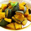 料理メニュー写真かぼちゃの煮物