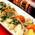 料理メニュー写真トマトベースのアクアパッツァ