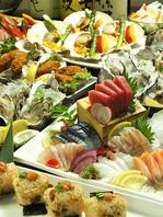 豊富な海鮮食材 職人の技と経験グランドメニューが一新