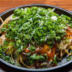 料理メニュー写真京都九条ねぎどっさり肉玉
