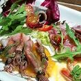毎日仕入れる新鮮食材を使用!本格イタリアンをご堪能ください