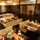 オープンスペースで気軽に会食。最大30名の貸切もok♪テーブルは動かせますのでレイアウトは思いのまま!!お昼はなんとキッズスペースに????