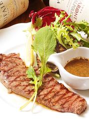 料理メニュー写真牛ロース肉のグリル